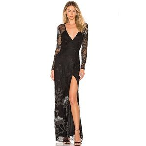 NEW Michael Costello REVOLVE Sonya Lace Maxi Dress